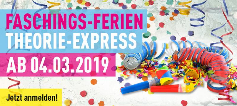 Faschings Ferien Theorie Express 2019 Aplus
